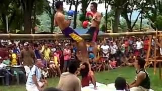 getlinkyoutube.com-boxing naa sa taas sa kawayan...