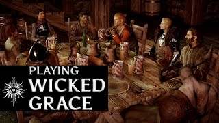 getlinkyoutube.com-Dragon Age: Inquisition - Playing Wicked Grace (and getting Cullen naked in the process) version 2