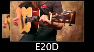 getlinkyoutube.com-Eastman E10D vs E20D - Mahogany Vs Rosewood Acoustic Guitar Comparison Video