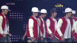 getlinkyoutube.com-SHINee + KARA + SNSD + 2PM + SuJu - In The Club(2)