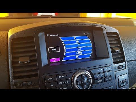 Nissan Pathfinder/Patrol/Murano 08IT и блок навигации с OS Android 6.0.1(2)