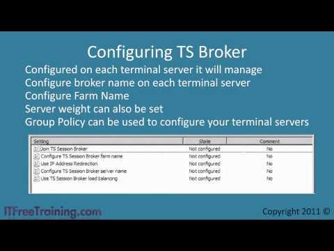 Terminal Services Load Balancing