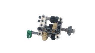 getlinkyoutube.com-BUILD: Lego technic compact 2 speed gearbox / instructions