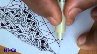getlinkyoutube.com-ABC of Zentangle  H Video