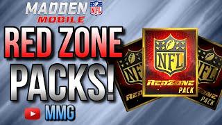 getlinkyoutube.com-REDZONE Packs Opening! Madden Mobile 16