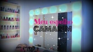 getlinkyoutube.com-DIY: Faça você mesmo Espelho Camarim!