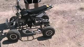 getlinkyoutube.com-49cc mini quad  R