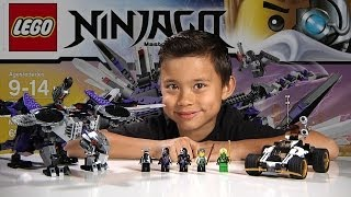 getlinkyoutube.com-NINDROID MECHDRAGON - LEGO NINJAGO 2014 Set 70725 - Time-lapse Build, Unboxing & Review!