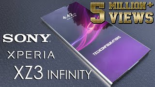 Sony Xperia XZ3 INFINITY Introduction Concept, Our Dream Xperia Design with 95% Screen