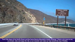 getlinkyoutube.com-Pacific Coast Highway (PCH), Driving Into Malibu along Southbound California State Route 1