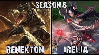 getlinkyoutube.com-LGD Marin Renekton vs Irelia TOP Ranked Challenger Korea