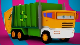 getlinkyoutube.com-garbage truck for kids | videos for kids | learn transport