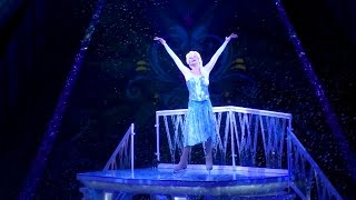 getlinkyoutube.com-Disney Frozen on Ice Skating Highlights From Debut Show - Let it Go Anna & Elsa