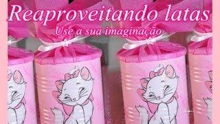 getlinkyoutube.com-Reciclagem com latas  passo a passo