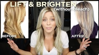 getlinkyoutube.com-How To Lift and Brighten your blonde in one step, without bleach!