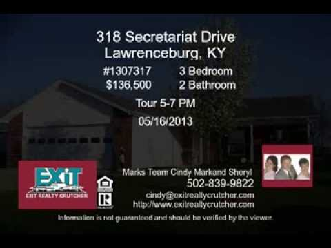 318 Secretariat Drive Lawrenceburg Kentucky Home for Sale