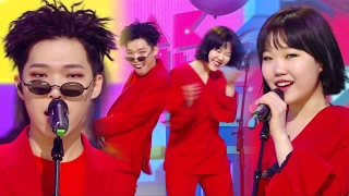 getlinkyoutube.com-《Follow up Song》 AKMU (악동뮤지션) - PLAY UGLY (못생긴 척) @인기가요 Inkigayo 20170219