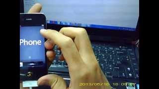 getlinkyoutube.com-วิธีการใช้itune ปลดล็อค iPhone 4 ios 6.1.3 เครื่อง Model KS KH B LL X KN