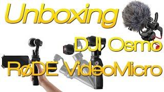 getlinkyoutube.com-Déballage - DJI Osmo - Rode VidéoMicro