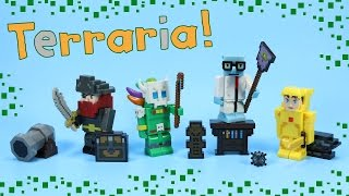 Terraria Action Figures Gold Armor Player Pirate Goblin Witch Doctor Series 1