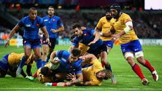 France v Romania - Full Match Video Highlights and Tries