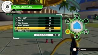 getlinkyoutube.com-Dragonball Xenoverse: Best Hybrid Build Ki Blast Striker