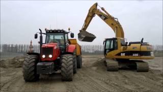 getlinkyoutube.com-Fendt ,Massey Ferguson ,John Deere  ,Case Ih Traktor,Tractor,Ciagnik