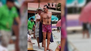 getlinkyoutube.com-Jon Hamm's Package Causes a Scene on Mad Men Set