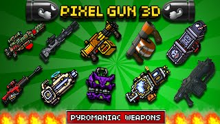 getlinkyoutube.com-✔ Pixel Gun 3D : 10 STOLEN GUNS