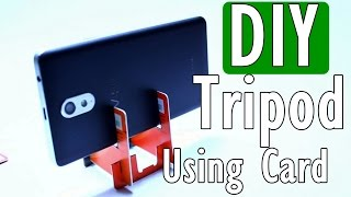 DIY Smartphone Tripod Low Budget
