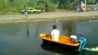 getlinkyoutube.com-jet boat เรือเจ็ตโบ๊ทเครื่องสูบน้ำ