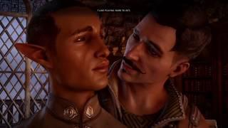 getlinkyoutube.com-Dragon Age Inquisition Gay Sex Scene [Dorian Romance Path]