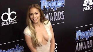 getlinkyoutube.com-제니퍼 로페즈, 파격적인 노출 의상에 시선집중(Jennifer Lopez, People Magazine Awards 2014)