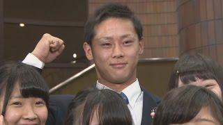 getlinkyoutube.com-ロッテ1位に仙台育英高の平沢選手 プロ野球ドラフト会議