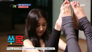 getlinkyoutube.com-Sexy 4minute yoga with Jihyun
