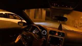 getlinkyoutube.com-Seat Ibiza Cupra vs VW Scirocco 1.4 DSG