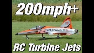 200mph+ RC Turbine Jets