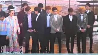 getlinkyoutube.com-Big Bang G-Dragon and Big Bang TOP with f(x) Krystal