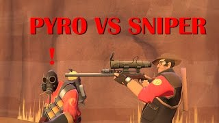 getlinkyoutube.com-TF2 bot battle 20 : Pyro VS Sniper