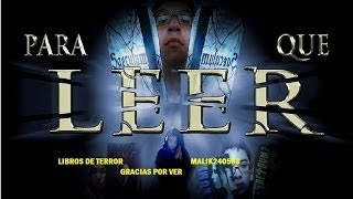 getlinkyoutube.com-RECOMENDACIONES DE LIBROS DE TERROR 2