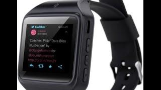 getlinkyoutube.com-Kenxinda Gsm Sim With Bluetooth Krazzy Smartwatch - 2016