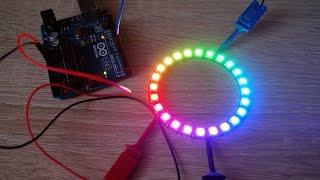 getlinkyoutube.com-/dev/Arduino: #6: Diody RGB WS2812 WS2812B