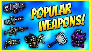 getlinkyoutube.com-Pixel Gun 3D - Popular Weapon Gameplay!