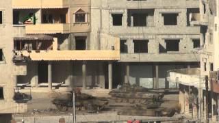 FSA menghancur kan Tank T-72 Geng assad