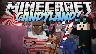 getlinkyoutube.com-Minecraft | CANDYLAND! (Candy Cane Pigs, Chocolate Dogs, Candy Dimension & More!) | Mod Showcase