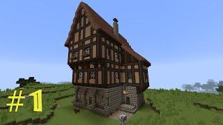 getlinkyoutube.com-Minecraft Tutorial - Fachwerkhaus (Wohnhaus) #1