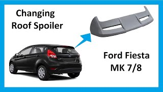 getlinkyoutube.com-How to upgrade to the ST rear spoiler on Ford Fiesta Mk7