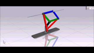 getlinkyoutube.com-How Peaucellier Straight Line Motion Mechanism Works