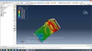 getlinkyoutube.com-Tube Crash Test Tutorial Using Abaqus 6.13