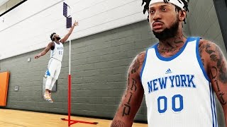 "getlinkyoutube.com-NBA 2k16 My Career Gameplay Ep. 21 - LIVE PRACTICE! Melo Won't Participate - 40"" Vert?!"